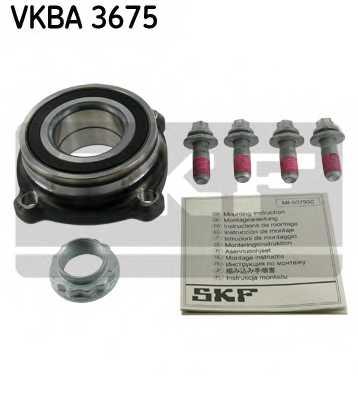 Комплект подшипника ступицы колеса SKF VKBA 3675 - изображение