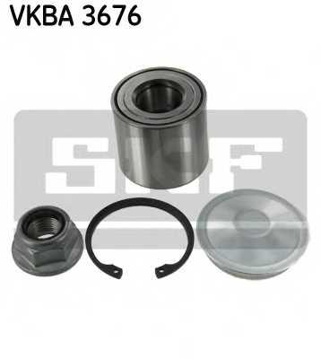 Комплект подшипника ступицы колеса SKF VKBA 3676 - изображение
