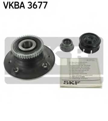 Комплект подшипника ступицы колеса SKF VKBA 3677 - изображение