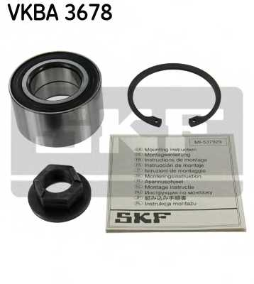 Комплект подшипника ступицы колеса SKF VKBA 3678 - изображение
