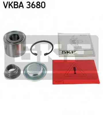 Комплект подшипника ступицы колеса SKF VKBA 3680 - изображение