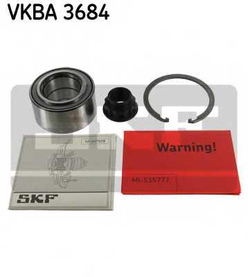 Комплект подшипника ступицы колеса SKF VKBA 3684 - изображение