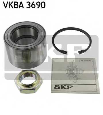 Комплект подшипника ступицы колеса SKF VKBA 3690 - изображение