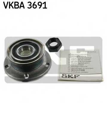 Комплект подшипника ступицы колеса SKF VKBA 3691 - изображение