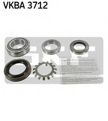 Комплект подшипника ступицы колеса SKF VKBA 3712 - изображение