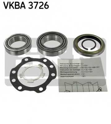 Комплект подшипника ступицы колеса SKF VKBA 3726 - изображение