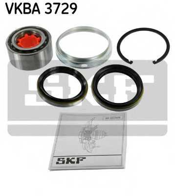 Комплект подшипника ступицы колеса SKF VKBA 3729 - изображение