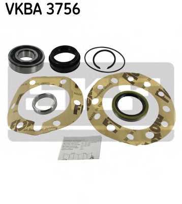 Комплект подшипника ступицы колеса SKF VKBA 3756 - изображение