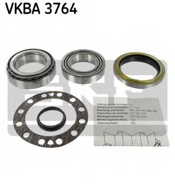 Комплект подшипника ступицы колеса SKF VKBA 3764 - изображение