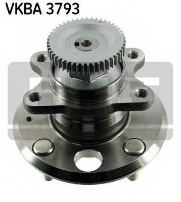 Комплект подшипника ступицы колеса SKF VKBA 3793 - изображение
