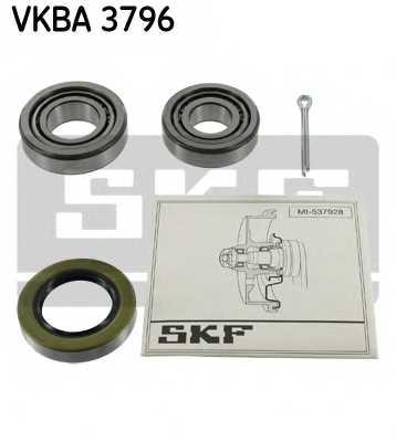Комплект подшипника ступицы колеса SKF VKBA3796 - изображение