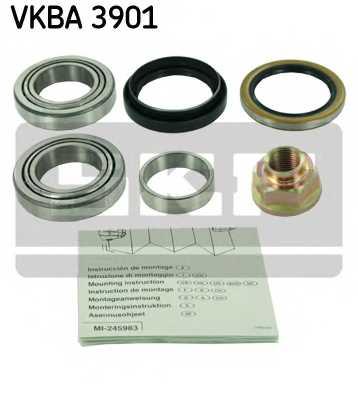 Комплект подшипника ступицы колеса SKF VKBA 3901 - изображение