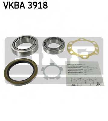 Комплект подшипника ступицы колеса SKF VKBA 3918 - изображение
