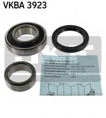Комплект подшипника ступицы колеса SKF VKBA 3923 - изображение