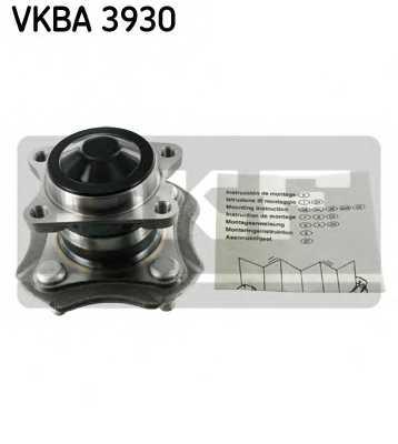 Комплект подшипника ступицы колеса SKF VKBA 3930 - изображение