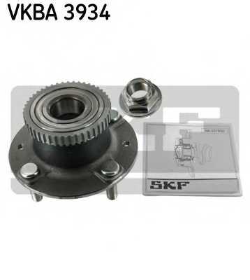Комплект подшипника ступицы колеса SKF VKBA 3934 - изображение
