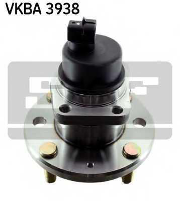 Комплект подшипника ступицы колеса SKF VKBA 3938 - изображение