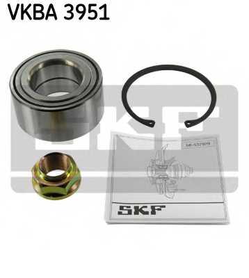 Комплект подшипника ступицы колеса SKF VKBA 3951 - изображение