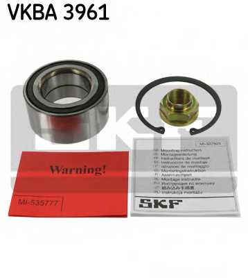 Комплект подшипника ступицы колеса SKF VKBA3961 - изображение