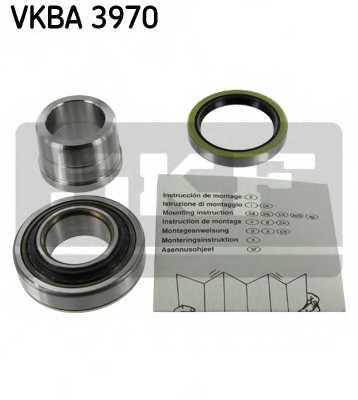 Комплект подшипника ступицы колеса SKF VKBA 3970 - изображение