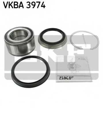 Комплект подшипника ступицы колеса SKF VKBA 3974 - изображение