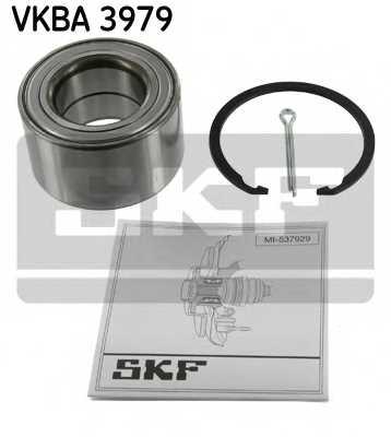 Комплект подшипника ступицы колеса SKF VKBA 3979 - изображение