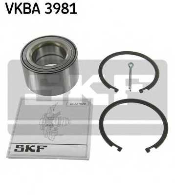 Комплект подшипника ступицы колеса SKF VKBA 3981 - изображение
