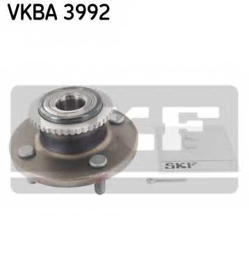 Комплект подшипника ступицы колеса SKF VKBA 3992 - изображение