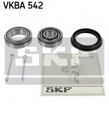Комплект подшипника ступицы колеса SKF VKBA 542 - изображение