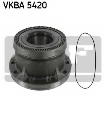 Комплект подшипника ступицы колеса SKF VKBA 5420 - изображение