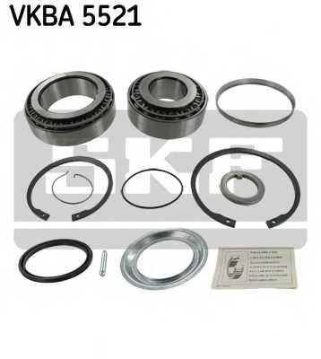 Комплект подшипника ступицы колеса SKF VKBA 5521 - изображение
