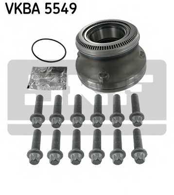 Комплект подшипника ступицы колеса SKF VKBA 5549 - изображение