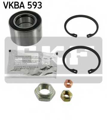 Комплект подшипника ступицы колеса SKF VKBA 593 - изображение