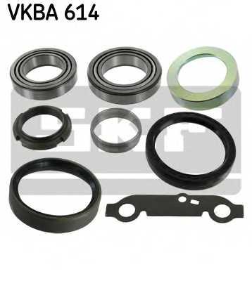 Комплект подшипника ступицы колеса SKF VKBA 614 - изображение