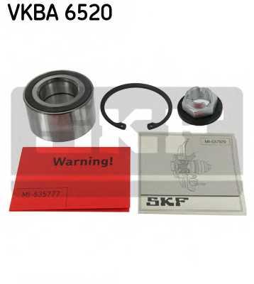 Комплект подшипника ступицы колеса SKF VKBA 6520 - изображение