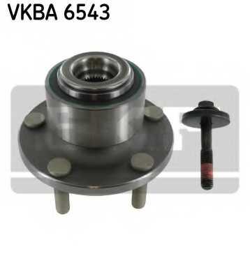 Комплект подшипника ступицы колеса SKF VKBA 6543 - изображение