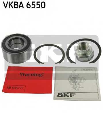Комплект подшипника ступицы колеса SKF VKBA 6550 - изображение