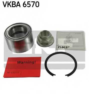 Комплект подшипника ступицы колеса SKF VKBA 6570 - изображение