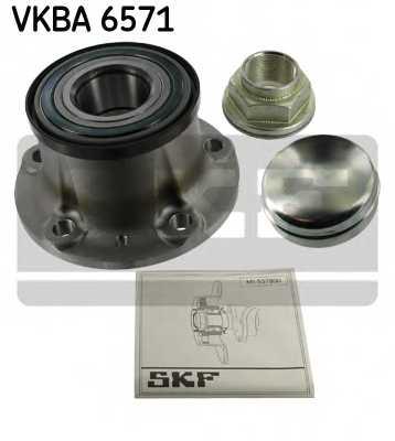 Комплект подшипника ступицы колеса SKF VKBA 6571 - изображение