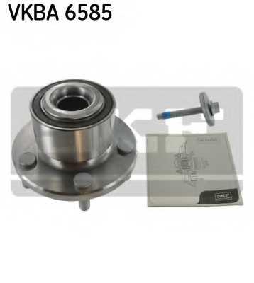 Комплект подшипника ступицы колеса SKF VKBA 6585 - изображение