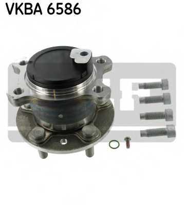Комплект подшипника ступицы колеса SKF VKBA 6586 - изображение