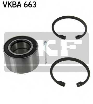 Комплект подшипника ступицы колеса SKF VKBA 663 - изображение