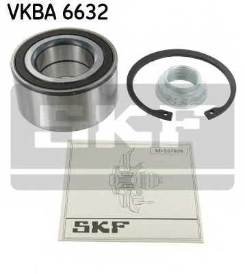 Комплект подшипника ступицы колеса SKF VKBA6632 - изображение