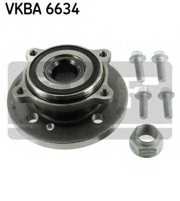 Комплект подшипника ступицы колеса SKF VKBA 6634 - изображение