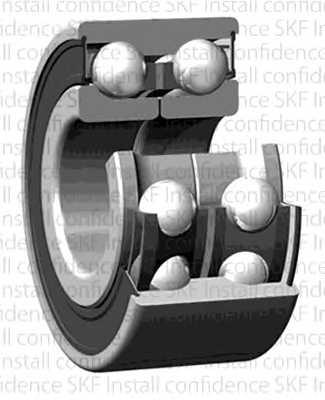 Комплект подшипника ступицы колеса SKF VKBA 6636 - изображение