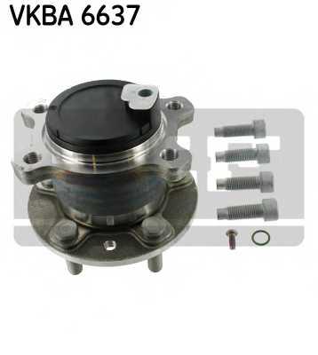 Комплект подшипника ступицы колеса SKF VKBA 6637 - изображение