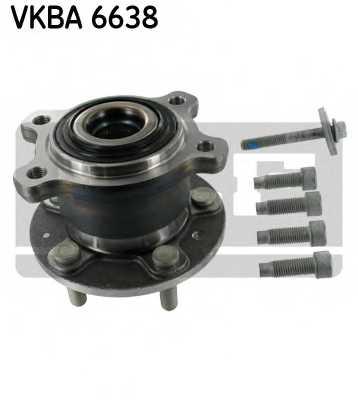 Комплект подшипника ступицы колеса SKF VKBA 6638 - изображение