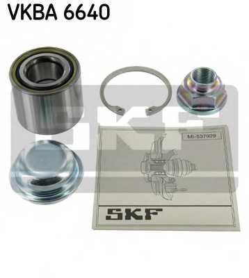 Комплект подшипника ступицы колеса SKF VKBA 6640 - изображение