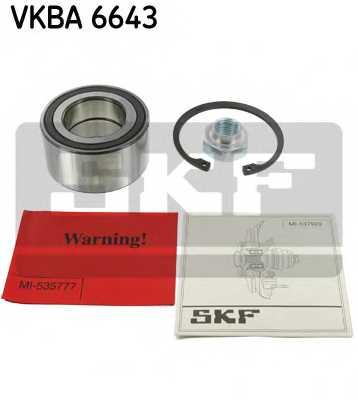 Комплект подшипника ступицы колеса SKF VKBA 6643 - изображение