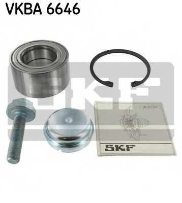 Комплект подшипника ступицы колеса SKF VKBA 6646 - изображение